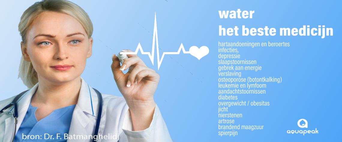 water het beste medicijn